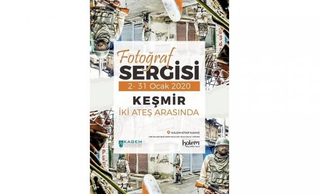 """""""Keşmir: İki Ateş Arasında"""" sergisi"""