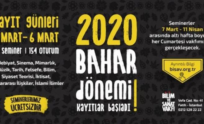 BİSAV 2020 Bahar Dönemi seminerleri