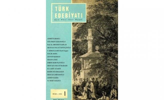 Türk Edebiyatı dergisinin arşivi erişime açıldı
