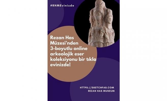 Rezan Has Müzesi'nden Türkiye'de bir ilk: 3-boyutlu online arkeolojik eser koleksiyonu!