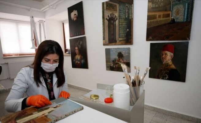 Topkapı Sarayı'nın deposunda muhafaza edilen tablolar sanatseverlerle buluşacak