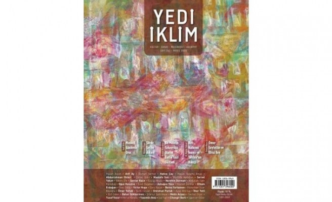 Yedi Eklim dergisinin Mayıs sayısı çıktı