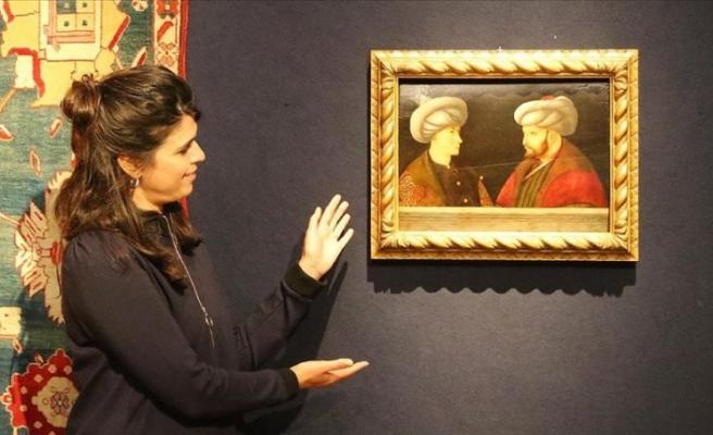Fatih Sultan Mehmet'in portresi Londra'da 770 bin sterline satıldı