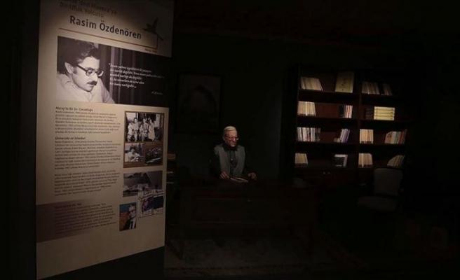 Edebiyat tutkunlarının buluşma noktası: Yedi Güzel Adam Edebiyat Müzesi