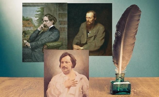 Romanın üç büyük ustası Balzac, Dickens ve Dostoyevski