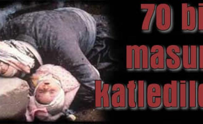 Hama katliamı protesto ediliyor!