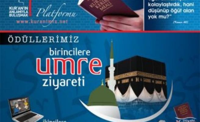 Bu yarışmanın soruları Kur'an'dan