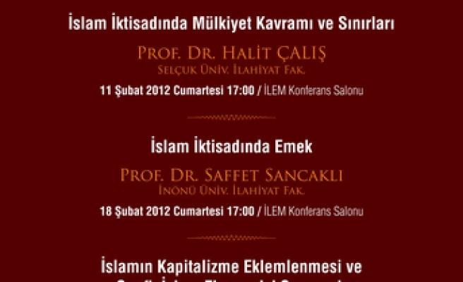 İslam İktisadında Emek semineri ertelendi