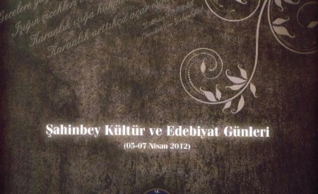 'Şahinbey Kültür ve Edebiyat Günleri'