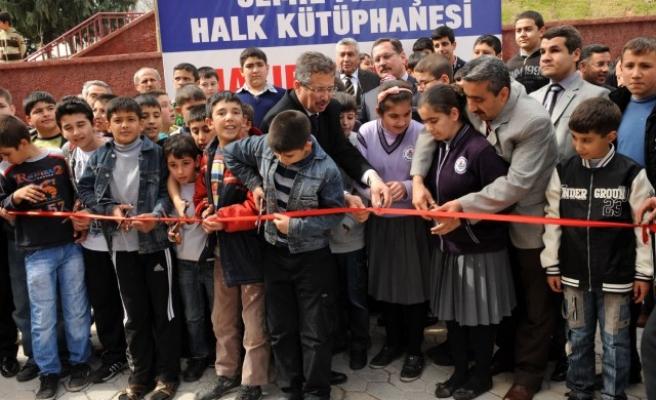 Cemil Meriç Kütüphanesi açıldı