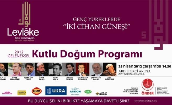 Önder'den kutlu doğum programı