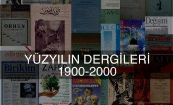 Fikir, sanat atölyesidir dergiler Türkiye'de!