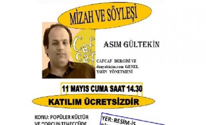 Asım Gültekin İzmir'de