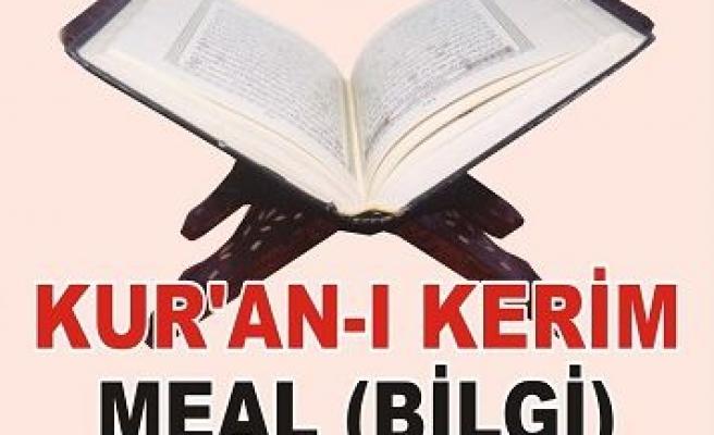 Kayseri'de Meal yarışması yapıyorlar!