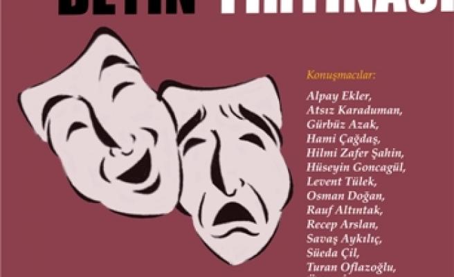 Tiyatro sorunu masaya yatırılıyor