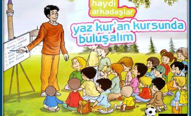 Çocuklara yaz okulları İstanbul'un her yerinde