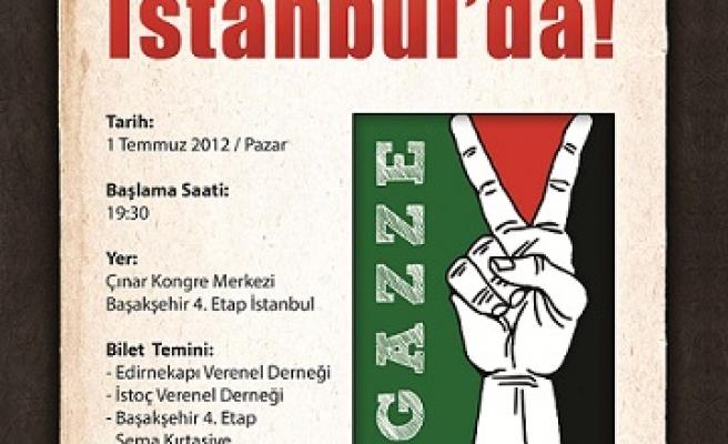 Gazzeli yetimler İstanbul'da