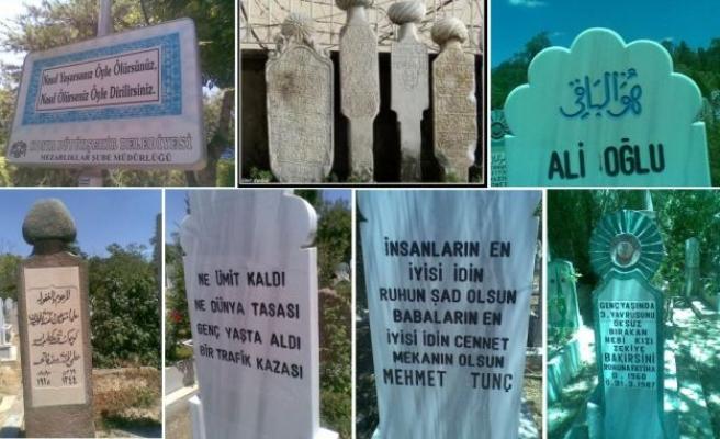 Mezartaşlarına neler yazmıyor ki milletimiz!