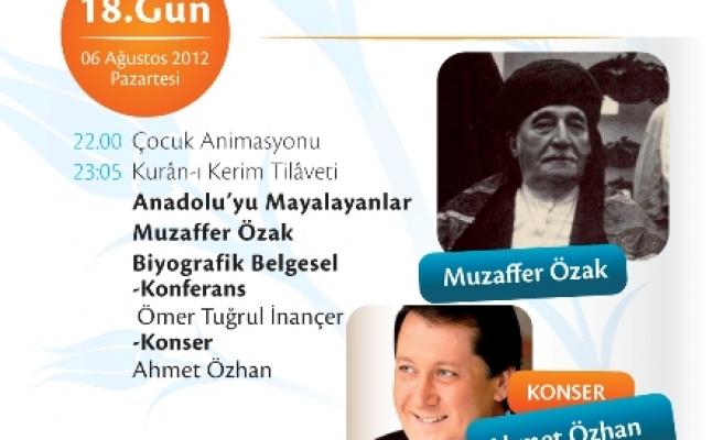 İnançer Muzaffer Özak Hoca'yı anlatacak