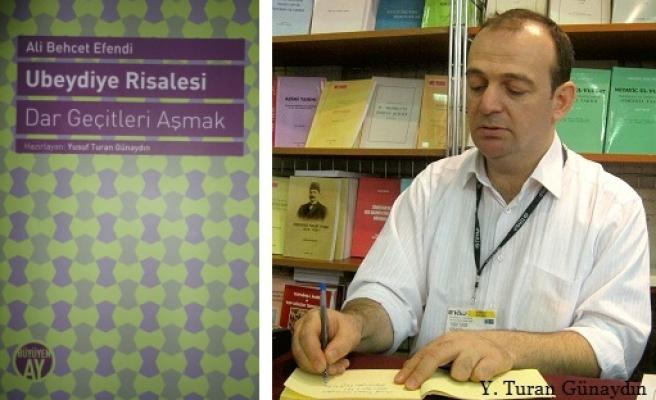 Ali Behcet Efendi'nin etkisi büyük eseri