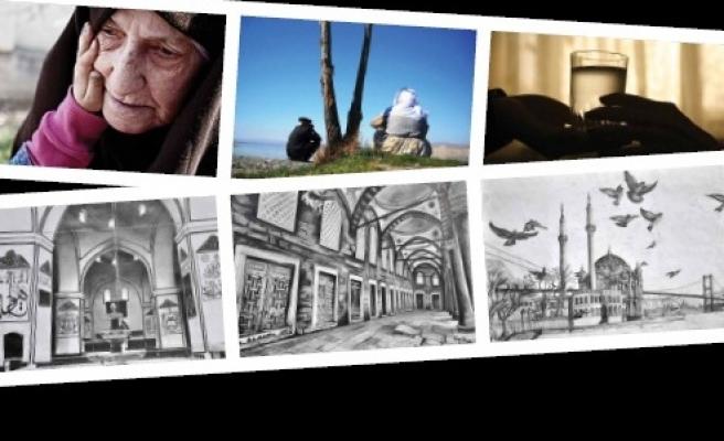 Sanatçı İmam Hatiplilerin eserleri Taksim'de