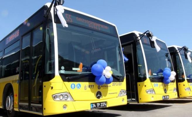 İETT'nin rengarenk otobüsleri var artık..