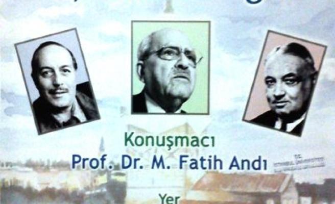 Üç şairin İstanbul'unu anlatacak