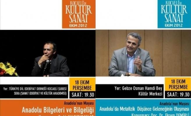 İzmit ve Gebze'de iki yazar konuk