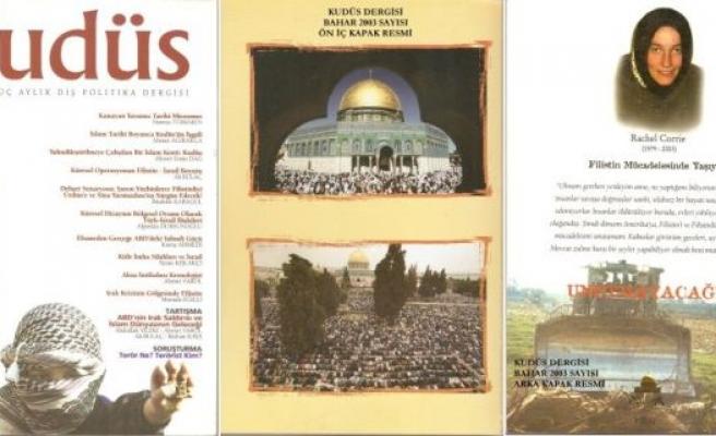 Kudüs dergisi neden sustu?