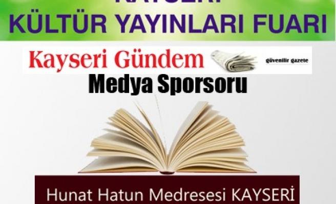 Kayseri'de Kültür Yayınları Fuarı
