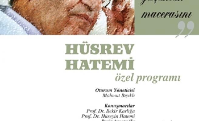 Hüsrev Hatemi için özel program