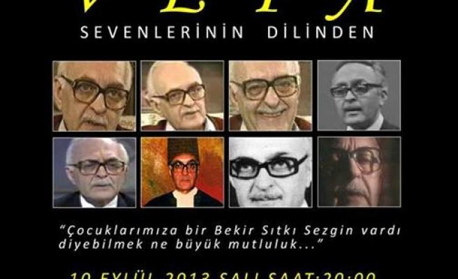 Bekir Sıtkı Sezgin Bursa'da anılacak