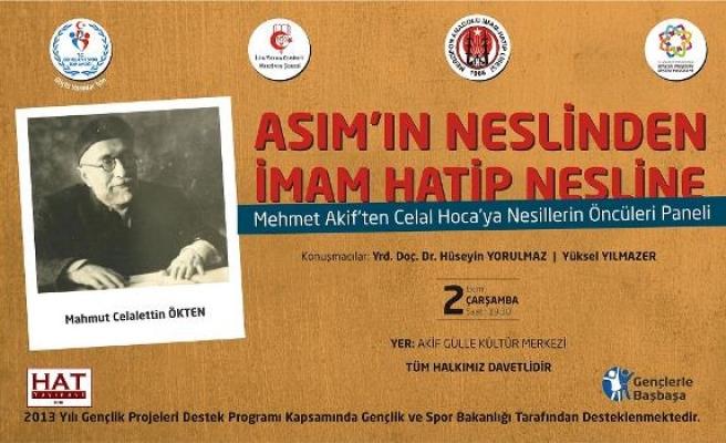 Asım'ın neslinden imam hatip nesline