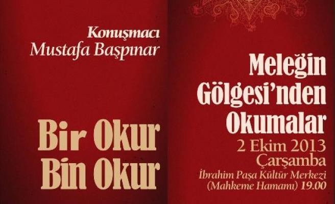 Mustafa Başpınar Bursa'da