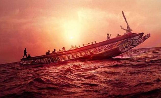 Tekneyle Avrupa'ya kaçan mültecilerin dramı