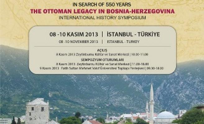 550 Yılın İzinde Bosna Sempozyumu
