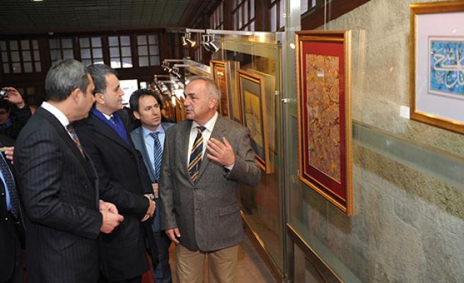 Hünkâr Kasrı'nda gelenekli sanatlar sergisi