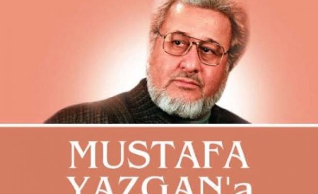 Mustafa Yazgan'a saygı gecesi
