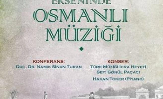 Namık Sinan Turan Osmanlı Müziğini anlatacak