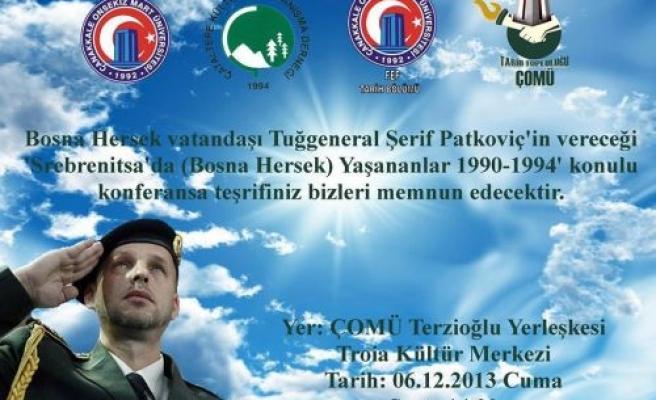 Şerif Petkoviç Srebrenitsa'yı anlatacak