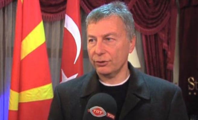 Üsküp'te Mançevski'ye saygı gecesi düzenlendi (video)