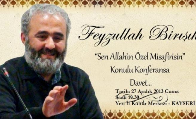 Sen Allah'ın özel misafirisin