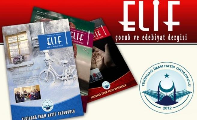 Elif çocuk dergisi 3. sayısı çıktı