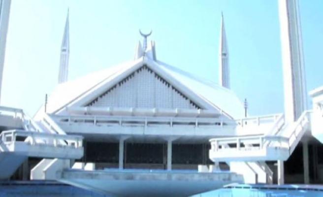 Pakistan'ın simgesi Faysal Camii (video)