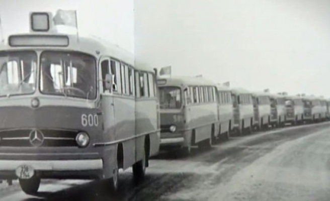 Otobüs duraklarının hikâyesi film oldu (video)