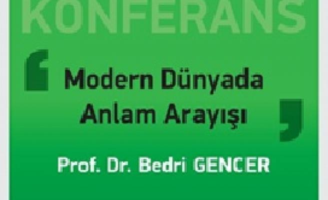 Bedri Gencer Ankara'da