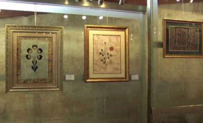 İSMEK'in hocalarından ebru sergisi (video)