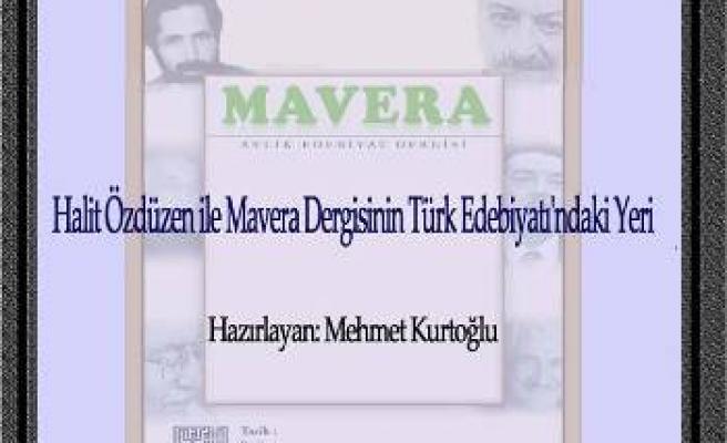 TYB Ankara'da Mavera konuşulacak