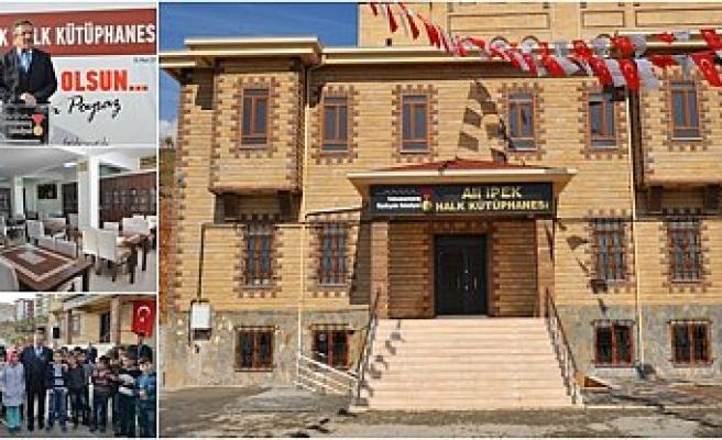 Kahramanmaraş'a iki yeni kütüphane