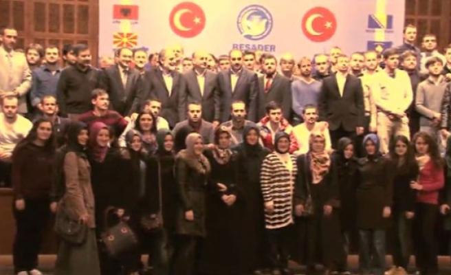 Balkanlı öğrenciler BESADER kampındaydı